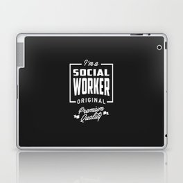Gift for Social Worker Laptop & iPad Skin