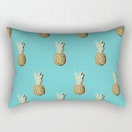 Pop art pineapples all over print Rectangular Pillow