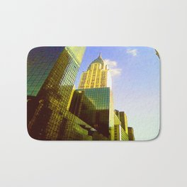 Empire State Building in New York City Bath Mat