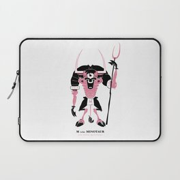 M is for Minotaur Laptop Sleeve