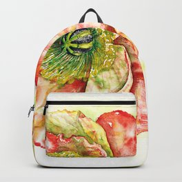 Mohnblume Backpack