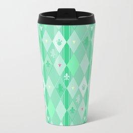 Green Lily Bear Travel Mug
