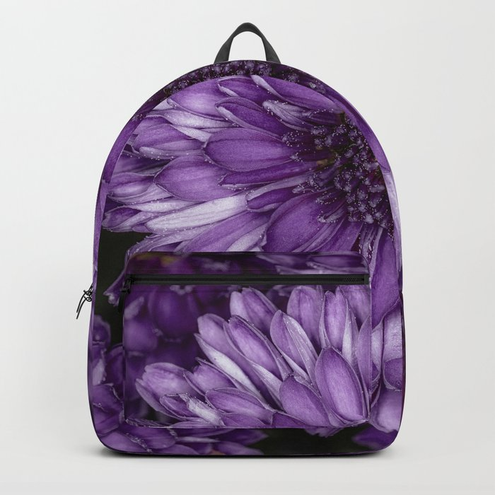 Purple Mums Backpack
