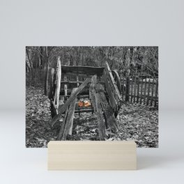 Not the Cart it Once Was Mini Art Print