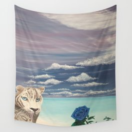Un regard perçant d'amour Wall Tapestry