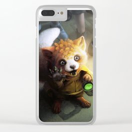 Digital Painter available for work Clear iPhone Case