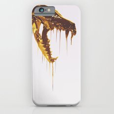 Painted Skull Gold Slim Case iPhone 6s