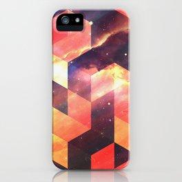 Geometric Fire iPhone Case