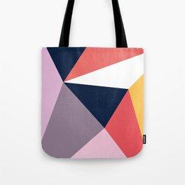 Modern Poetic Geometry Tote Bag