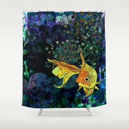 A fish! A fish! A fishy... OH!! Shower Curtain