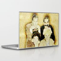 marx Laptop & iPad Skins featuring MARX BROTHERS - 004 by Lazy Bones Studios