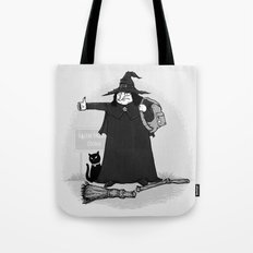 Witch Hiker Tote Bag