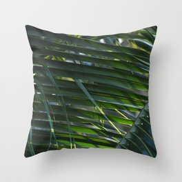 Weave Leaves Throw Pillow