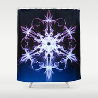 stargate Shower Curtains featuring Stargate by Françoise Reina