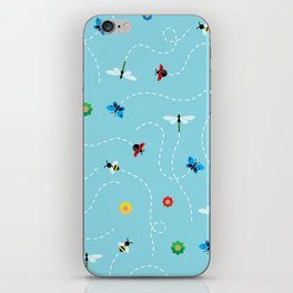 Flight of the Insects iPhone Skin