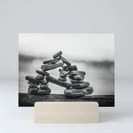 the importance of being Mini Art Print