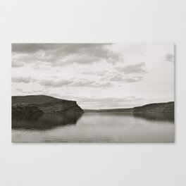 Blurred Reflection Canvas Print