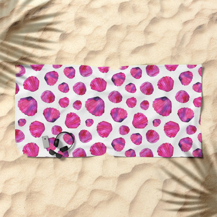 Mermaid dreams Beach Towel
