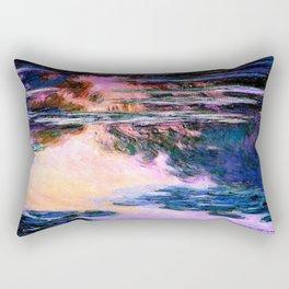 Monet : Water Lilies Rectangular Pillow