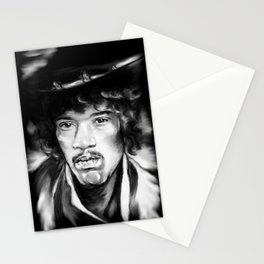 Jimmy in Black and White Stationery Cards