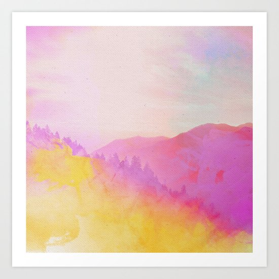 Enchanted Scenery 4 Art Print