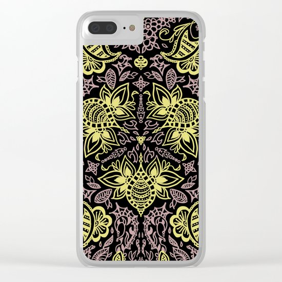 Bee-pink Clear iPhone Case