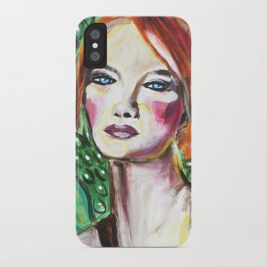VanGogh Girl iPhone Case
