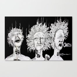 Puff, Puff, Pass Canvas Print