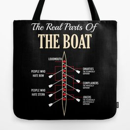 The Real Parts Of The Boat - Funny Boating Gifts Tote Bag