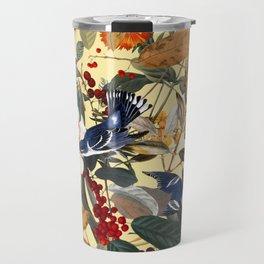 Floral and Birds XXIX Travel Mug