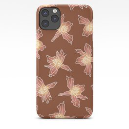 Amber Honohono Orchid iPhone Case