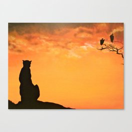 The Master Knows Patience, We'll All Have Our Turn Canvas Print
