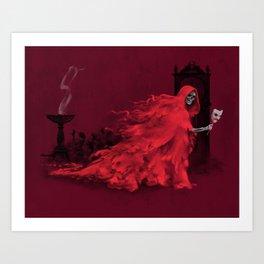 Red Death Art Print