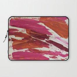 Pink Scrape Laptop Sleeve