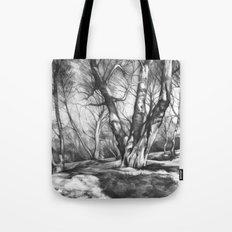 Musing of Trees Tote Bag