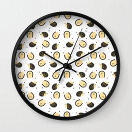 hedgegog fields Wall Clock