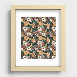 apricot Recessed Framed Print