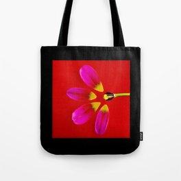 deconstructed tulip Tote Bag