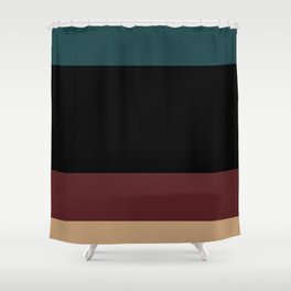 Contemporary Color Block XII Shower Curtain