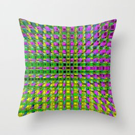 Extruded Throw Pillow