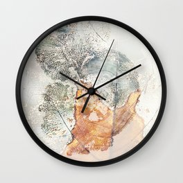 soft nature Wall Clock