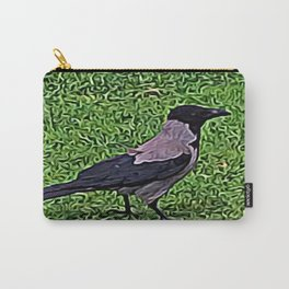 Crow of Courage Carry-All Pouch