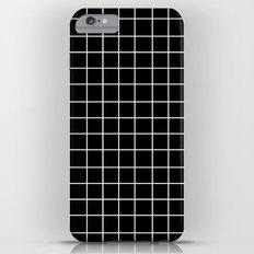 Grid (White/Black) Slim Case iPhone 6 Plus