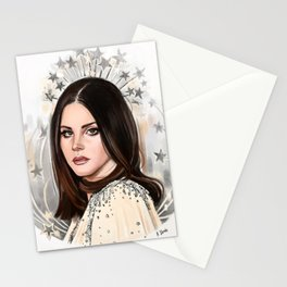 Lana Del Rey/Hedy Lamarr Stationery Cards