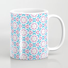 Delicate Flowers Pattern Coffee Mug