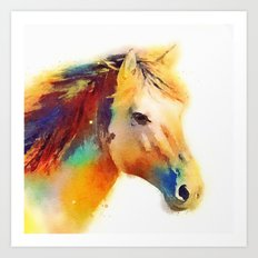 The Spirited - Horse Art Print