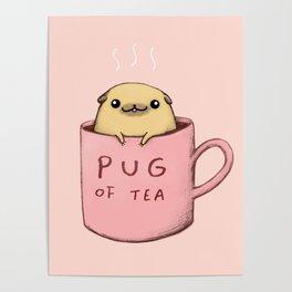 Pug of Tea Poster