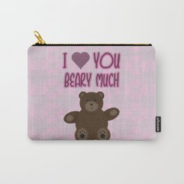 Beary Love Carry-All Pouch
