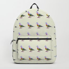 Fruit Dove Watercolour Backpack