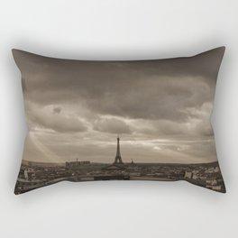 Rooftop view of Paris Rectangular Pillow